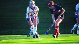 Senior Layla Purdy playing against Southern High School.